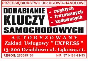 """PUH Zakład Usługowy """"EXPRESS"""""""