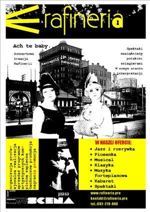 Rafineria - koncert, spektakl, kabaret!