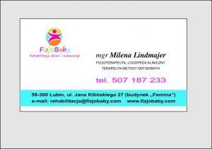 Rehabilitacja dzieci i niemowląt Lubin, Milena Lindmajer