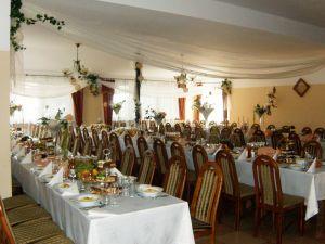 """Restauracja""""HUBERTUS"""", sala weselna, dom weselny,"""