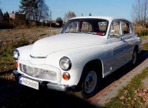 Retro auto do ślubu Warszawa 223