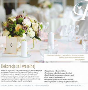 Ś jak Ślub Wedding Planner - dekoracje ślubne