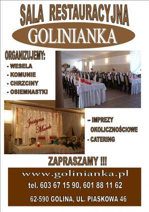 Sala Restauracyjna Glinianka