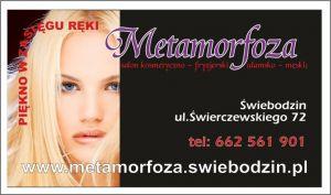 """Salon kosmetyczno-fryzjerski """"Metamorfoza"""""""