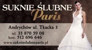 """Salon sukien ślubnych """"Paris"""