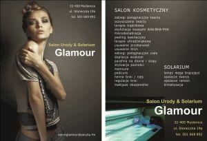 "Salon Urody Glamour     ""Kosmetyka & Solarium"""