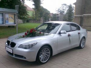 SAMOCHÓD DO ŚLUBU...BMW 5 E60