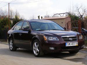 Samochód do ślubu Hyundai Sonata V6 Prestige