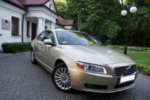 Samochód do ślubu Volvo S80