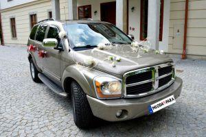 Samochód na Wesele: Potężny, amerykański złoty DODGE DURANGO