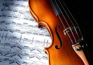 skrzypce -oprawa muzyczna