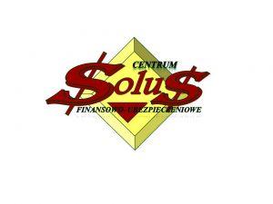 SOLUS Centrum Finansowo-Ubezpieczeniowe