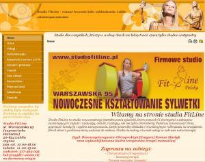 Studio FitLine - skuteczne odchudzanie-dyskopatia-kręgarz