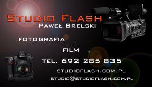Studio Flash Paweł Brelski, Wideofilmowanie, Fotografia