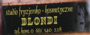 Studio fryzjersko-kosmetyczne BLONDI