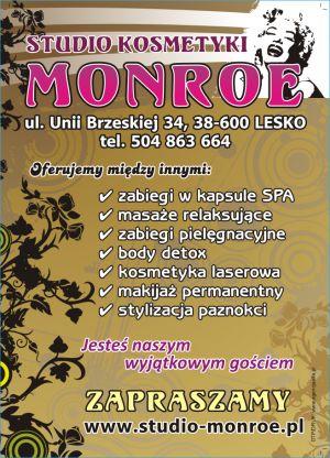 Studio Kosmetyki Monroe - solarium