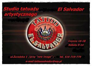 "Studio Tatuażu Artystycznego""ElSalvador"" Robert Wadas"