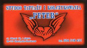 studio tatuażu i kolczykowania ;PETER'