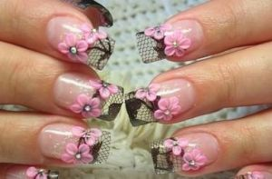 Stylizacja paznokci Tipsy