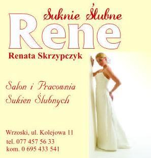 Suknie Ślubne Rene