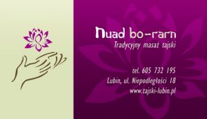 Tradycyjny Masaz Tajski Nuad Bo Rarn Masaz Lubin Baza Firm