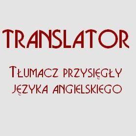 Translator Tłumacz przysięgły języka angielskiego