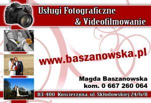 Usługi fotograficzne i videofilmowanie Magda Baszanowska