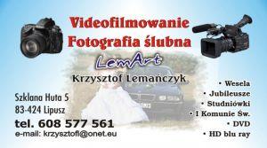 Videofilmowanie Fotografia Ślubna LemArt Krzysztof Lemańczyk