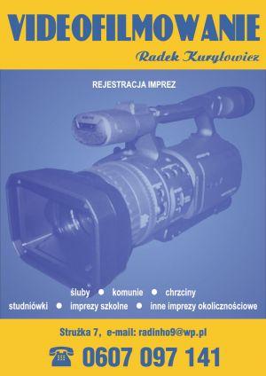 VIDEOFILMOWANIE Radek Kuryłowicz
