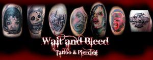 Wait and Bleed Studio Tatuażu Arkadiusz Kubaszewski