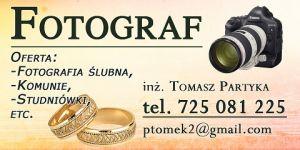 Wideofilmowanie | Fotografia Ślubna | tomekpartyka.pl