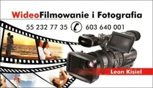 Wideofilmowanie Leon Kisiel