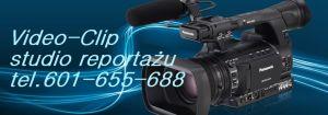 Wideofilmowanie studio reportażu Video-Clip Proszowice