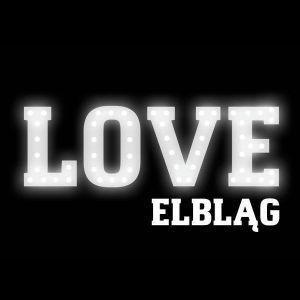 Wynajem napisu LOVE - Elbląg