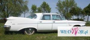 Zabytkowy amerykański samochód do slubu Chrysler Imperial