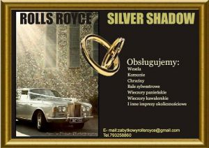Zabytkowy Rolls Royce Silver Shadow