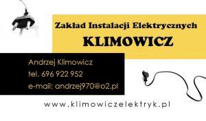 Zakład Instalacji Elektrycznych Klimowicz