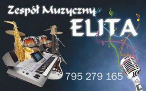 Zespół muzyczny ELITA ,profesjonalna oprawa muzyczna