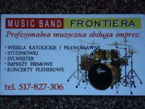 Zespół muzyczny FRONTIERA na każdą imprezę.