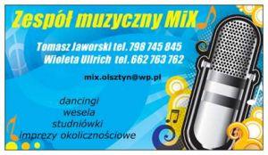 Zespół muzyczny MiX z Olsztyna