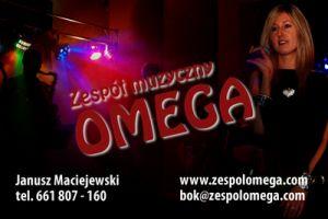 zespół muzyczny Omega, zespol na wesele, zespół z Gliwic