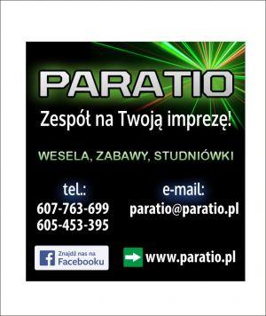 Zespół Muzyczny ParaTio na wesele i każdą zabawę taneczną!