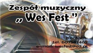 Zespół Muzyczny Wes Fest - Żywiec  i okolice.