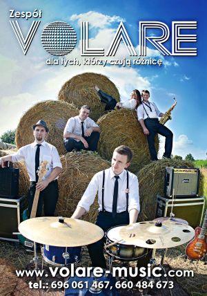 Zespół Volare 100% Live 5-osób No 1 w Polsce