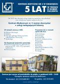 Centrum Medyczne nr 3 w Swarzędzu - 5 lat!