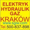 Elektryk Kraków Hydraulik i Gaz  Tel. 500-837-898