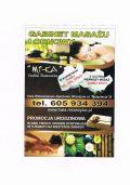 """gabinet masazu i odnowy biologicznej """"MI-KA"""""""