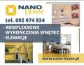 Nano House Wykończenia wnętrz Elewacje Ocieplenia budynków