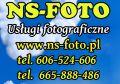 NS-FOTO Fotografia ślubna okolicznościowa Nowy Sącz i okolic
