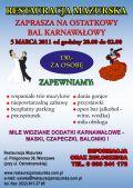 Sala weselna wesela catering Tanio i solidnie Warszawa